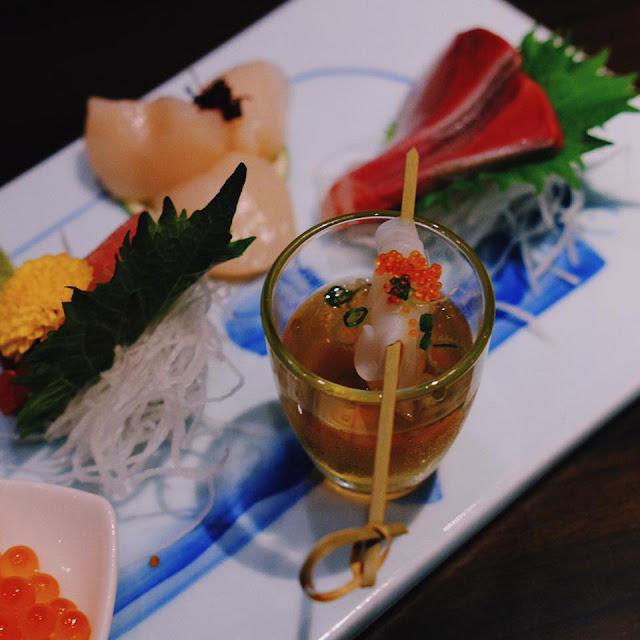 Chef's Sashimi Fuji Platter