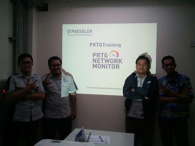 Training PRTG