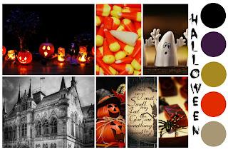 Halloween Mood Board