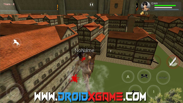 Download Game Android Attack on Titan Offline Multiplayer v0.2 English Version