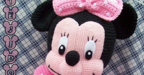 MINNIE Maus Disney Muster Amigurumi Baby einfach einfache DIY | Etsy | 262x500