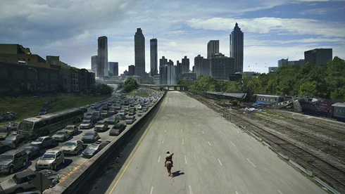 walking dead jackson street bridge atlanta georgia