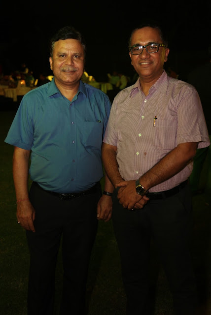 Entrepreneur Sudhi Sobti and Yogesh Srivastav Director PHD Chamber of Commerce and Industry-