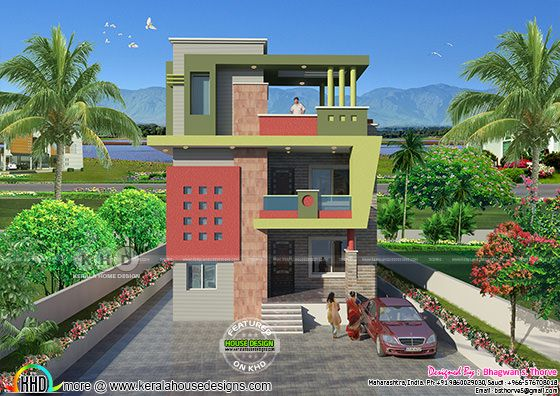 North Indian Duplex house plan