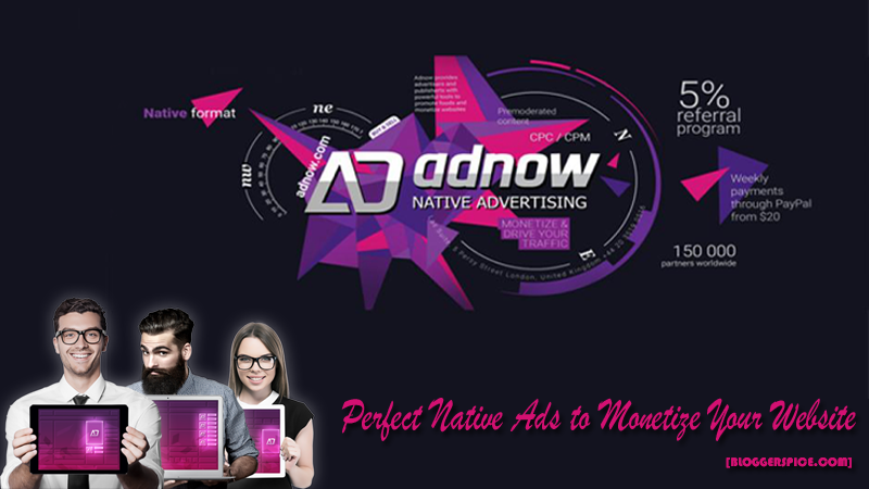 AdNow Review: Perfect Native Ads to Monetize Your Website