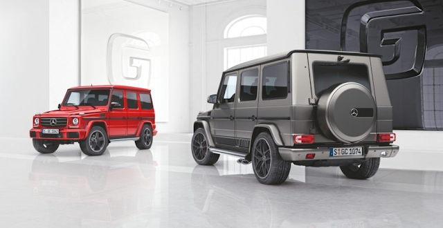 Two New Special Mercedes-Benz G-Class Models Unveiled