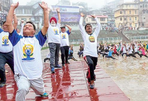 Gurung announced Rs 50 crore to upgrade Mela Ground into stadium
