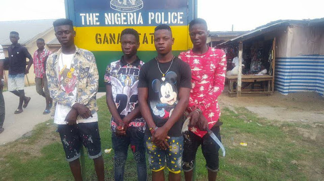 Secondary School Cult Boys Caught Fighting Other Students – Pictures