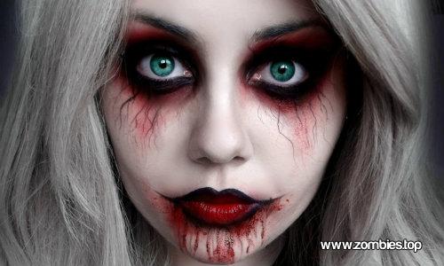 Maquillaje de zombies facil