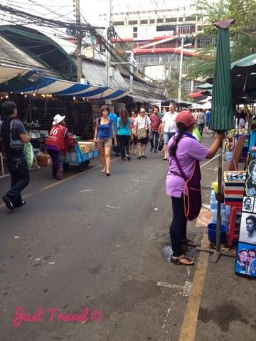 Chatuchak Flohmarkt Bangkok Hua Hin
