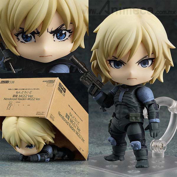 FIGURA RAIDEN MGS2 Ver. NENDOROID Metal Gear Solid 2 Sons of Liberty Good Smile Company