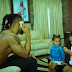 Singer Flavour Spends Some Time With His Two Daughters [PHOTOS]