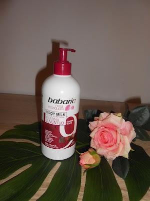 Babaria Kasadi- Mleczko do ciała 9 efektów z róży piżmowej.