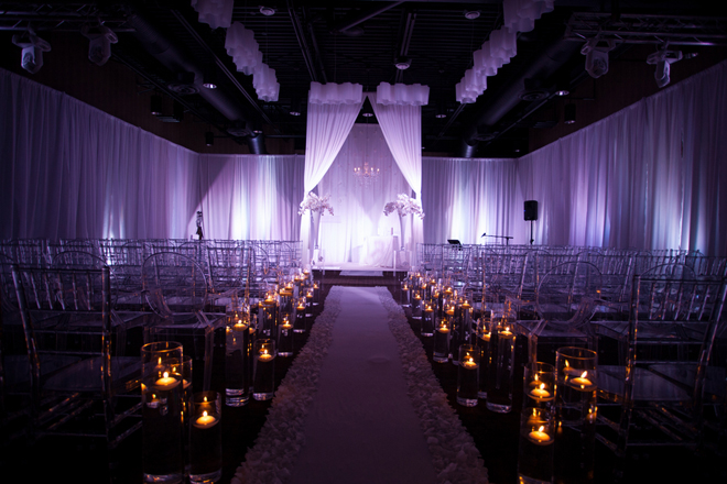 Sophisticated Contemporary Wedding Ceremony In