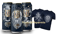 Logo ''8.6 lascia il segno'': con Bavaria vinci 100 tatoo t-shirt e buono da 800€ per 1 tatuaggio
