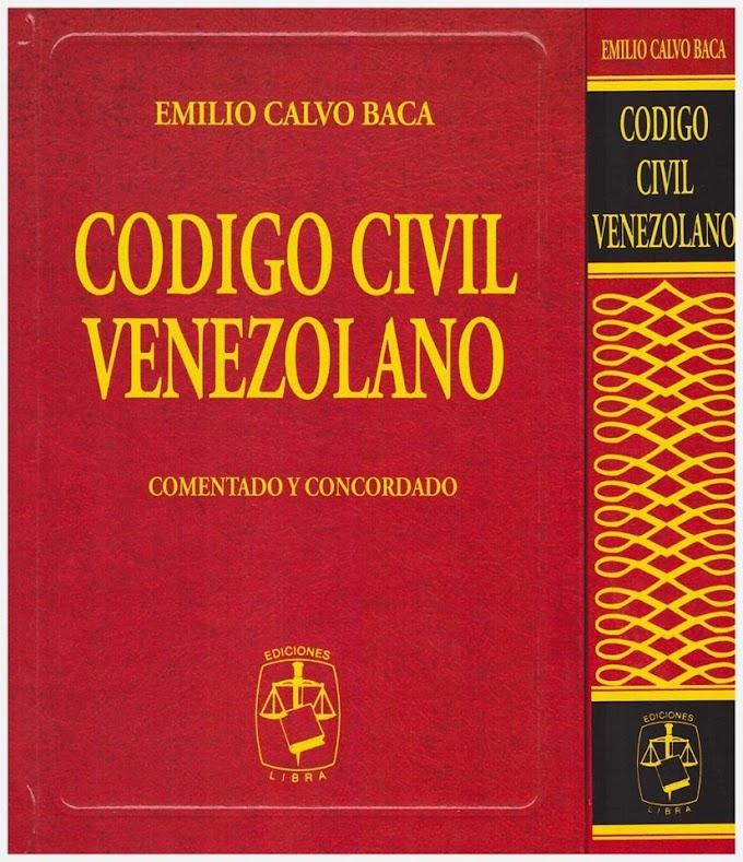 CODIGO CIVIL DE VENEZUELA