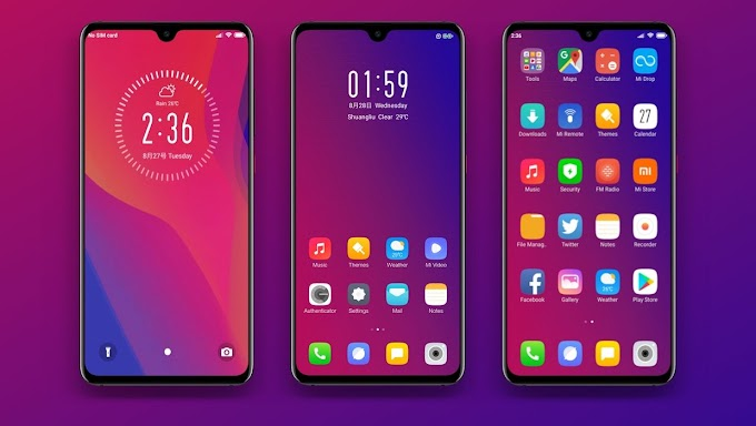 Yest Gradient MIUI Theme Download | Xiaomi Mi Themes
