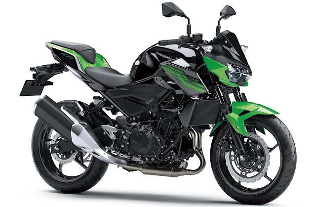 All New Kawasaki Z250 2019 hijau