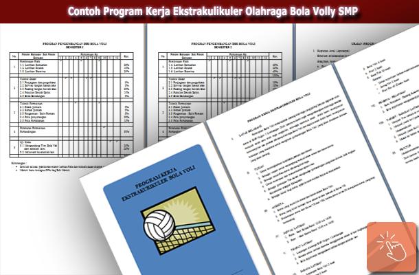 Contoh Program Kerja Ekstrakulikuler Olahraga Bola Volly SMP