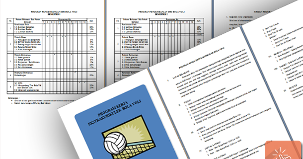 Contoh Program Kerja Ekstrakulikuler Olahraga Bola Volly Smp Wiki Edukasi