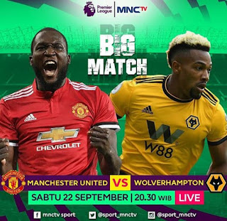 Susunan Pemain Manchester United vs Woverhampton