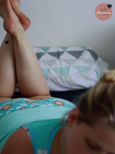 Hier zeige ich dir einige Bilder meines selbstgenähten Schlafanzugs und welche Schnitte sich dafür eignen.