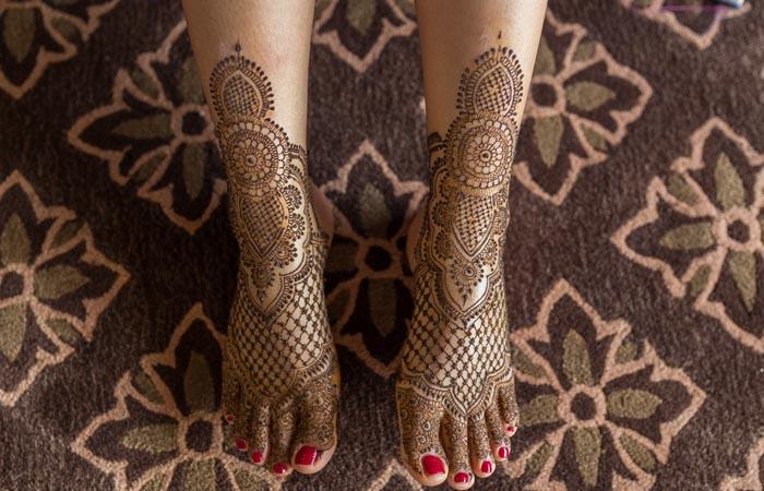 Mehndi Designs Arabic Feets