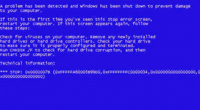 Cara Mengatasi Blue Screen Windows 7