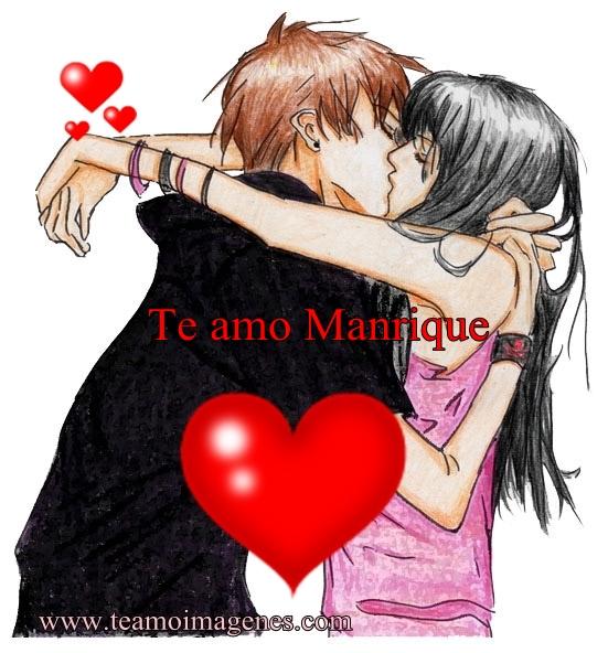 imagen de te amo manrique, teamoimagenes.com