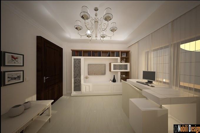 Design interior case moderne Bucuresti - Amenajare interioara living casa Bucuresti