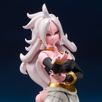 "Imágenes y detalles de S.H.Figuarts Android 21 de ""Dragon Ball Fighterz"" - Tamashii Nations"