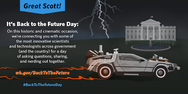 Back to the Future, White House, Future, DeLorean