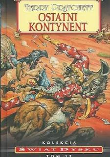 """""""Ostatni kontynent"""" - Terry Pratchett"""