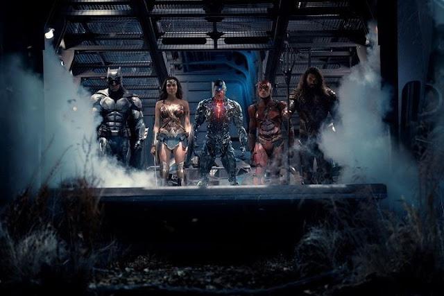Nueva fotografía del equipo de Justice League