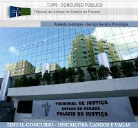 Apostila Tribunal de Justiça do PR - Concurso TJPR Analista Judiciário area Psicologia e area Serviço Social.