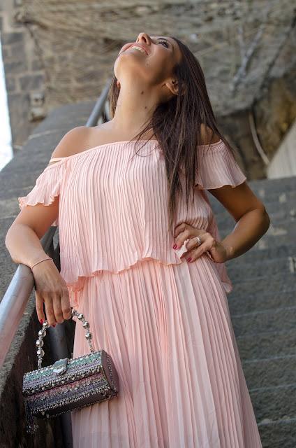 vestito-plissettato