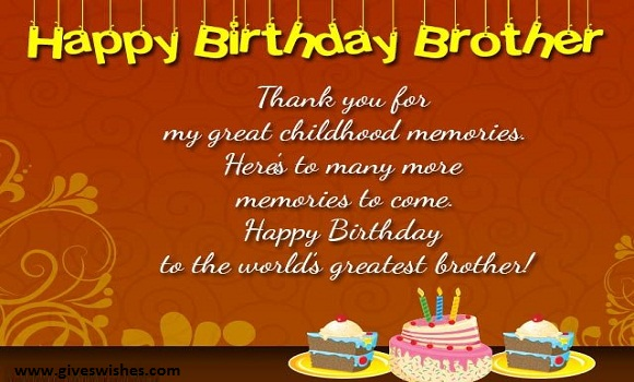 Happy birthday messages for brother birthday wishessmsquotes could ever ask for in a sister and more i consider myself blessed and lucky to have you by my side throughout lifes journey happy birthday brother voltagebd Gallery