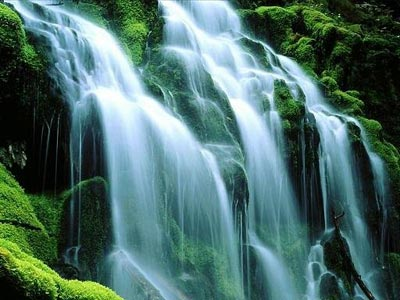 facts for u waterfall appears white in colour why
