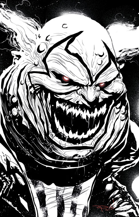 Ray Dillon Sketches Clown From Spawn