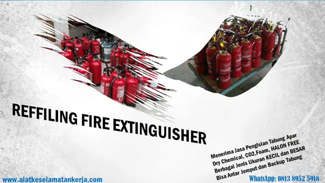 Reffiling apar pemadam kebakaran