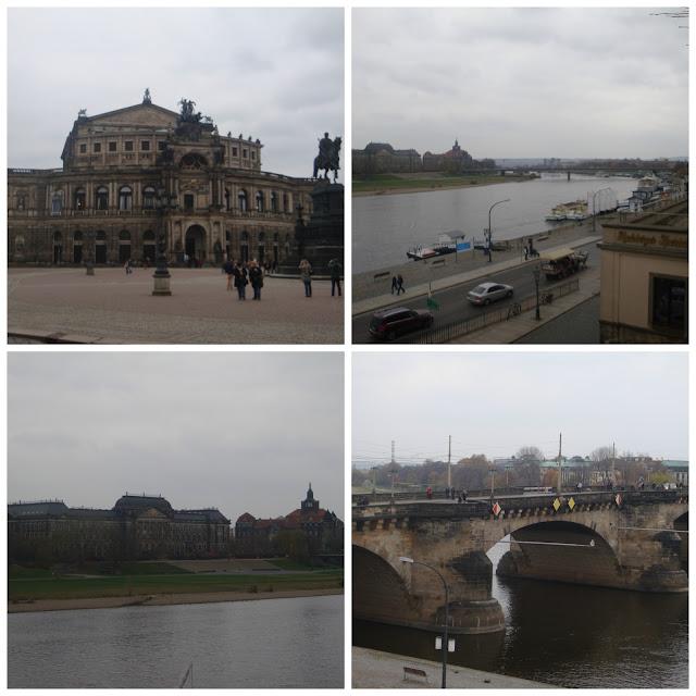 Sempopera e vista do Brühlsche Terrasse, Dresden