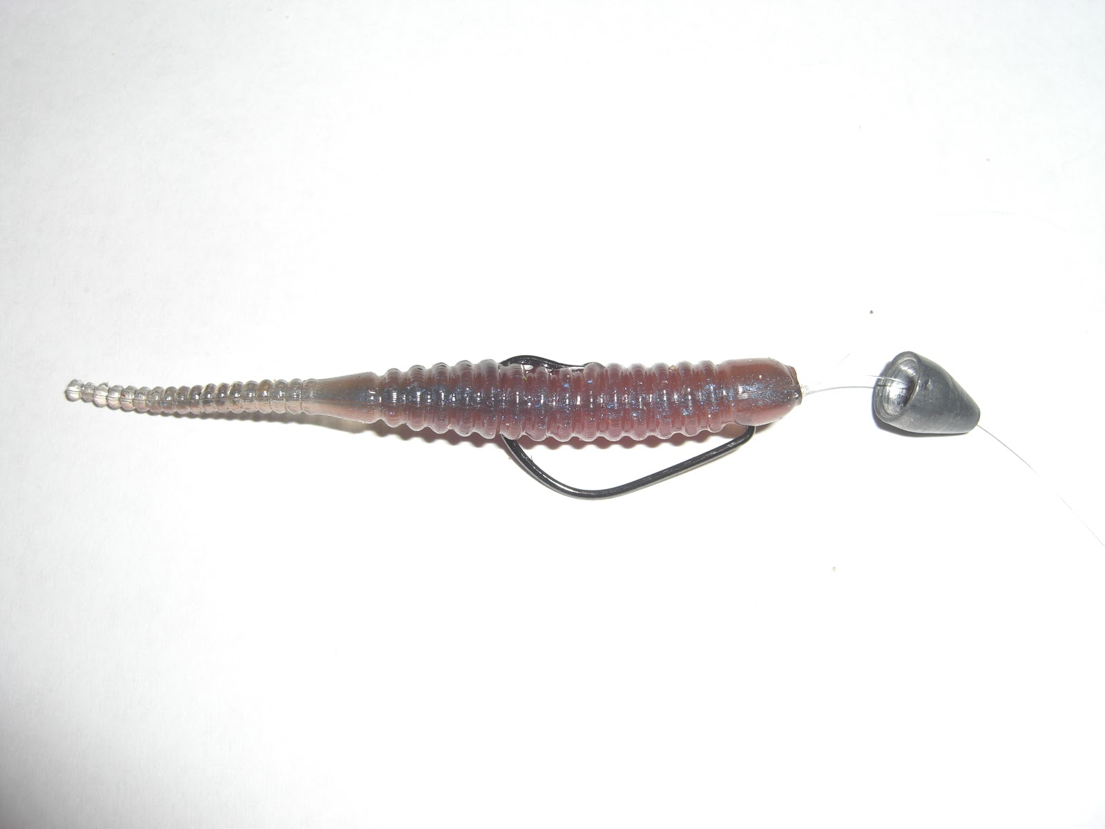 Lure and light game light game wrasse for Texas rig fishing