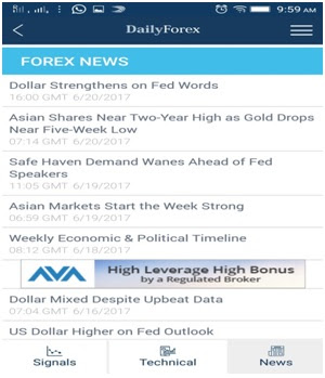 Forex news audio