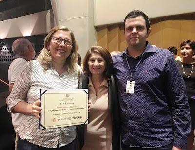 Saúde Municipal de Registro-SP recebe premiação em SP pela Qualidade das Ações de Controle da Tuberculose