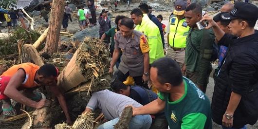 14 Orang Tewas Karena Banjir Bandang di Sentani Kabupaten Jayapura