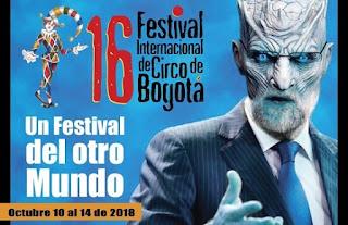 16 Festival Internacional de Circo Bogotá 2018