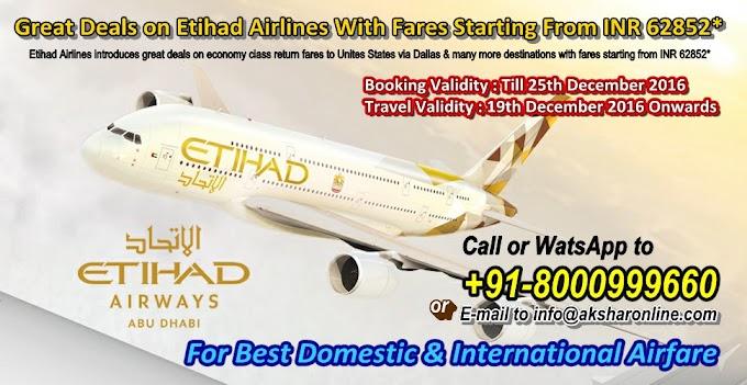 Etihad Airways Sale