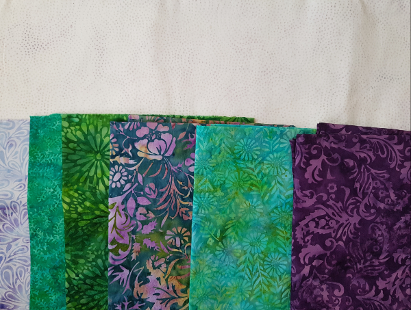 Island Batik fabrics for Medallion Magic quilt | DevotedQuilter.com
