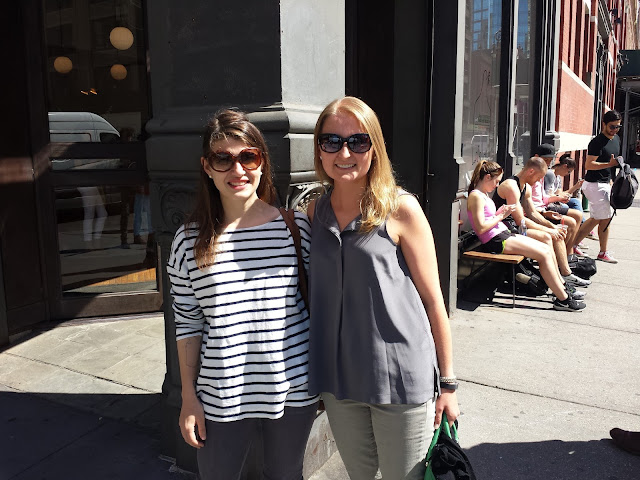 Lisa and Jenna in NYC