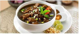 Masakan Rawon Khas Jawa Timur
